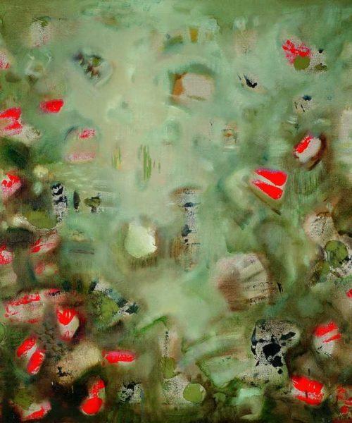 Pradžioje/118×118/ drobė, aliejus, akrilas/1995