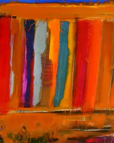 Hot Night/80×100/oil on canvas/2002
