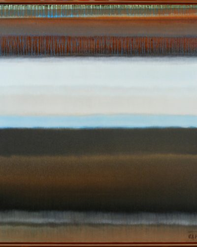FROM THE CICLE    FAR AND AWAY  100-100 OIL ON CAN