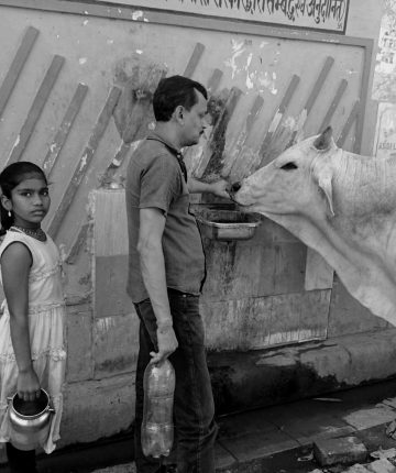 Vanduo/Varanasi, Indija/2017