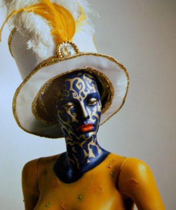 Mergina iš Rio/170/manekenas, aliejus/2001