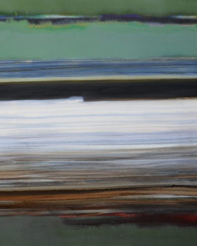 From the cycle FAR and AWAY/ 100x200/oil on canvas/2004