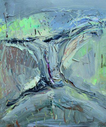 Mėnesienoje/30x23/drobė, aliejus/2009