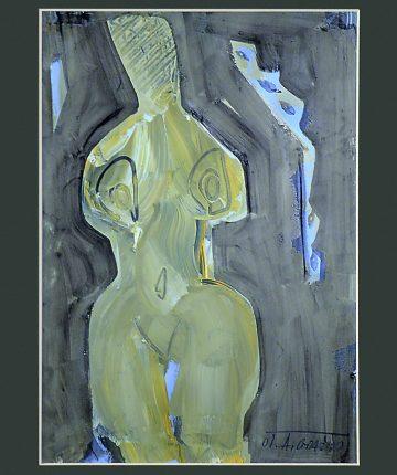 Piešinys/30x21/popierius, akrilas/2010