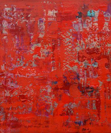 Iš ciklo AUKSO AMŽIUS. Raudona/70x80/drobė. akrilas/2013